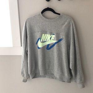 Vintage print Nike crewneck sweatshirt